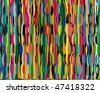 Vector background bright and colorful made of vibrating stripes - stock vector
