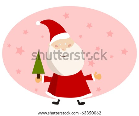 vector background card for christmas.
