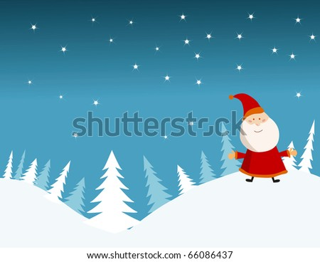 vector background card for new year.