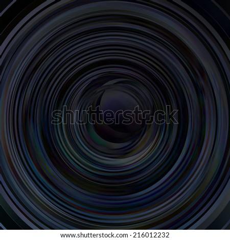 Vector background. dark abstract circles. 10 eps - stock vector