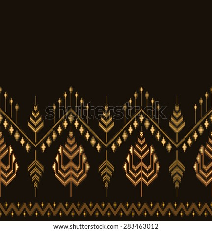 Vector background.Design Asian ethnic.