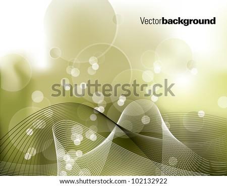 Vector Background. Eps10 Illustration. - stock vector