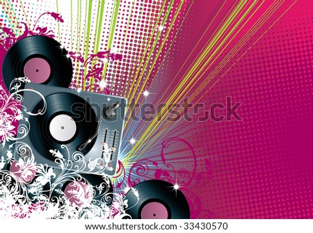 vector background for flyers and more