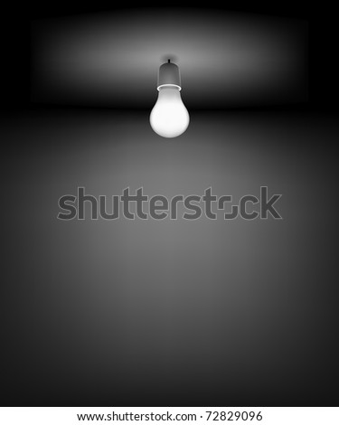 Vector Background for Good Idea. File - contains Gradient mesh - stock vector