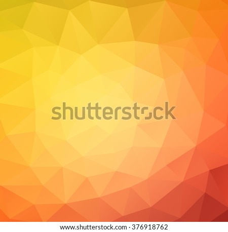 vector background from polygons