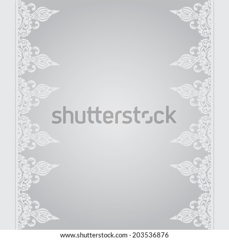 Vector background in east style on moroccan seamless eps10 - stock vector