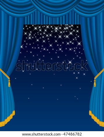 vector background in two layers, fully editable - stock vector