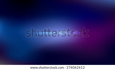 Vector background  in universe theme - stock vector