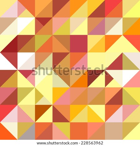 vector background made of triangles