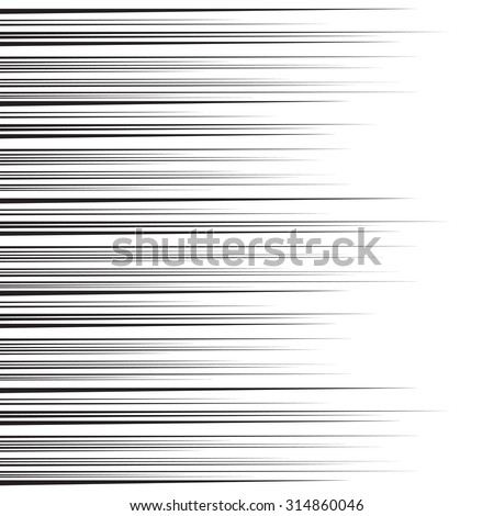 Vector  background of radial lines. Comic book. Radiant abstract illustration - stock vector