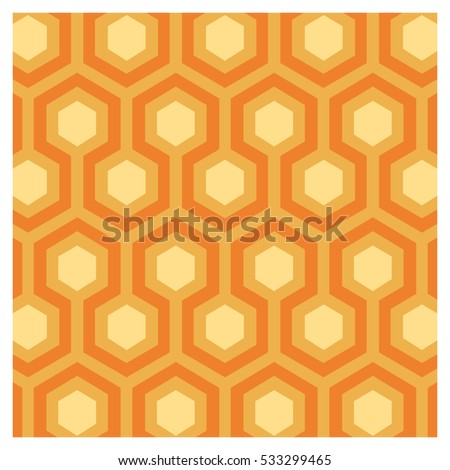 Vector Background Seventies Colorful Wallpaper 533299465