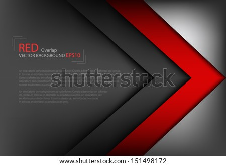vector background overlap dimension modern line bar design for text and message website design , vector - stock vector