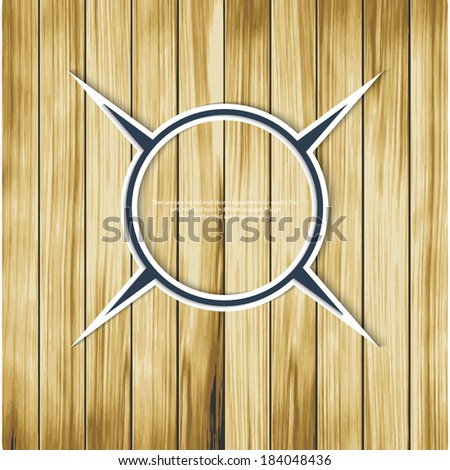 Vector Background.Sign