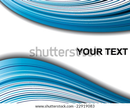 Vector background with a space for your text