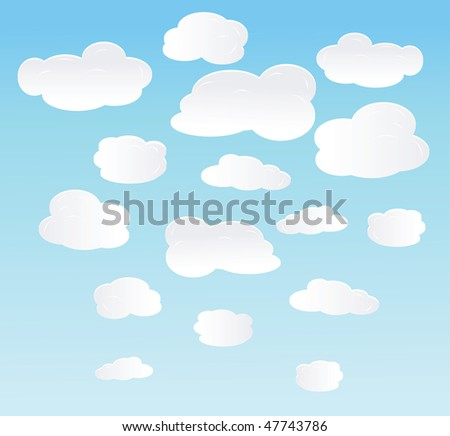vector background with balloons. - stock vector