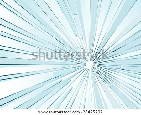 vector background with broken glass - stock vector