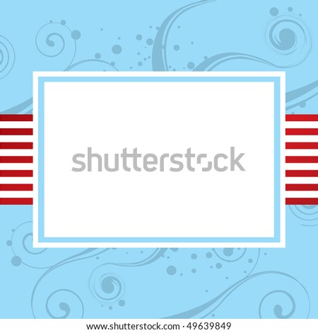 Vector Background with copy space - stock vector