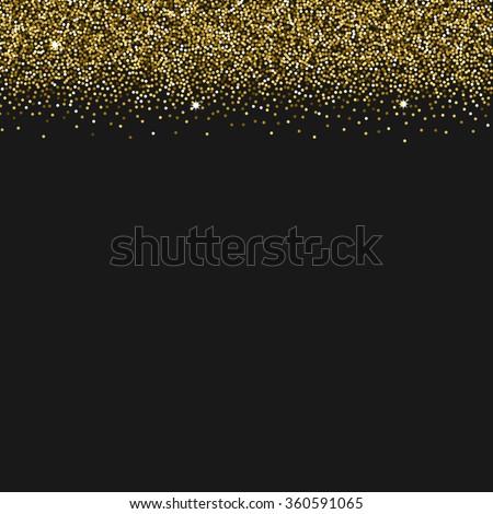 Vector background gold texture glitter sparkles stock photo photo vector background with gold texture glitter sparkles made for invitation wedding stopboris Images
