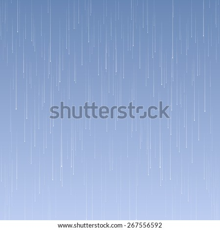 Vector background with rain and waves on the drops. EPS 10 - stock vector