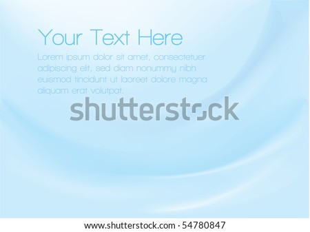 Vector background with smooth blue gradients for a corporate feel. - stock vector