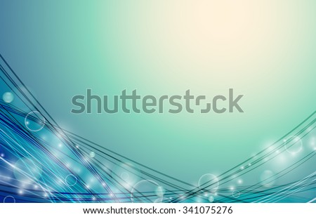 vector background with transparent bubbles and copy space. Eps10 - stock vector