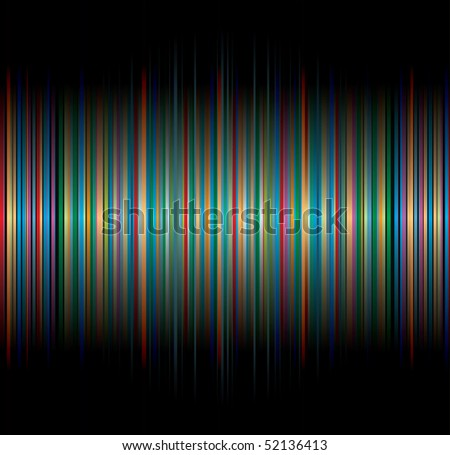 vector background with vertical colorful strips - stock vector