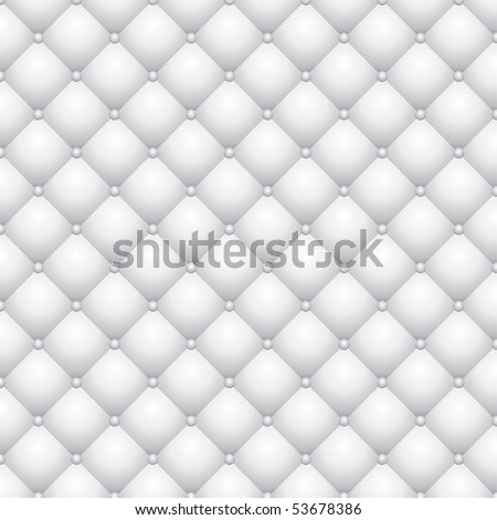 vector background with white upholstery - stock vector