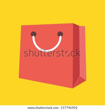 Vector Bag Icon - stock vector