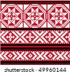 Vector baltic weaving designs - stock vector