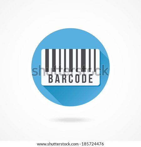 Vector Barcode Icon - stock vector
