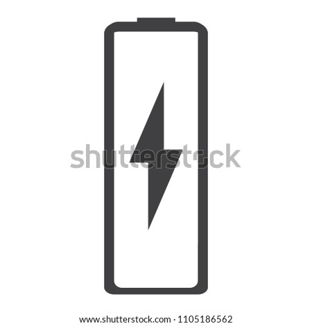 Vector Battery Charging Icon Battery Charge Stock Vector Royalty