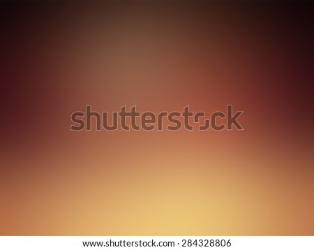Vector - Beautiful Autumn Colorful Gradient Yellow Brown Orange - stock vector