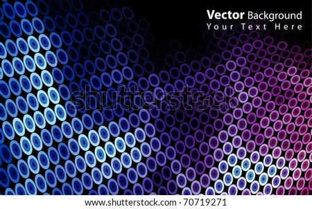 Vector beautiful mosaic background eps10 - stock vector