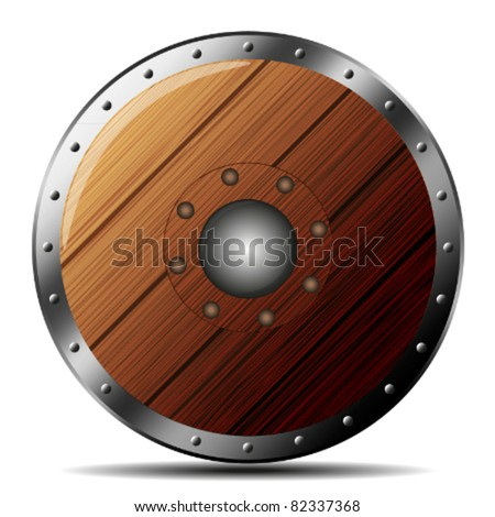 Wooden Shield Stock Images Royalty Free Images Amp Vectors