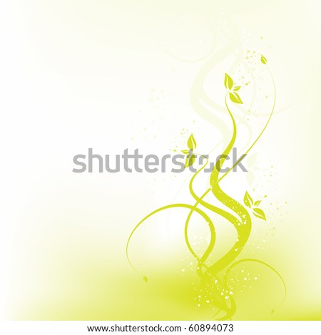 Vector beauty floral design