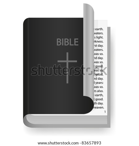 vector Bible for your design - stock vector