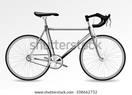 Vector Bicycle - stock vector