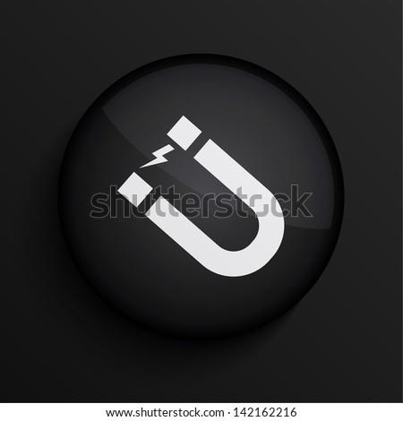 Vector black circle icon. Eps10 - stock vector
