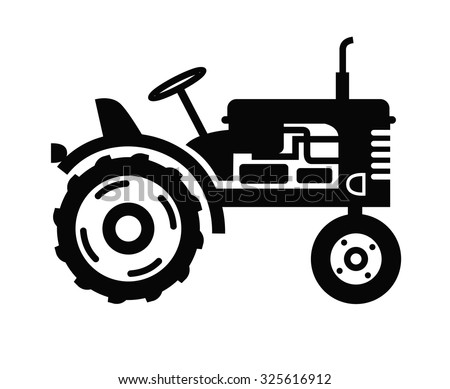 tractor stock images  royalty free images   vectors Farmer Plowing Clip Art snow plow truck clipart