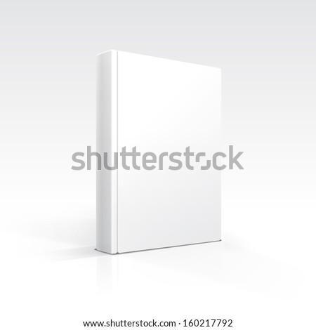 Vector Blank Book - stock vector