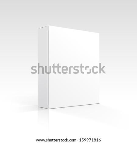 Vector Blank Box - stock vector