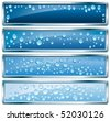 vector blank buttons with bubbles - stock vector