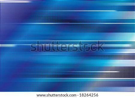 vector blue abstract - stock vector