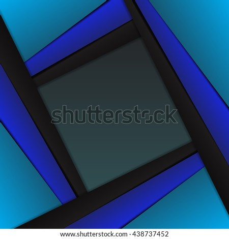 Vector blue abstract background   design eps 10
