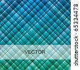 VECTOR - Blue Green Fabric Material Background - Attractive & Rich of This Two Colors - More than 1000 colors combination you can find in this material - stock vector