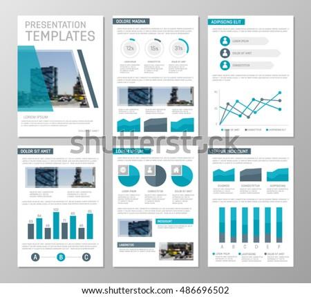 Vector blue template multipurpose presentation slides stock vector vector blue template for multipurpose presentation slides with graphs and charts design elements chart ccuart Images