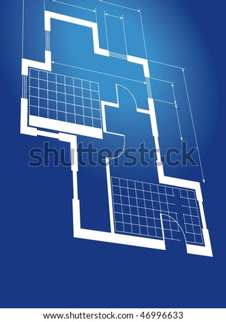 vector blueprint background