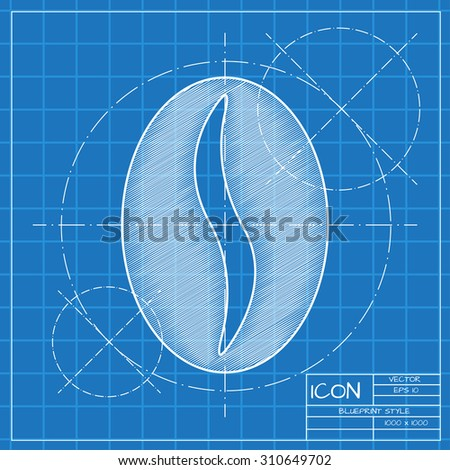 Vector blueprint coffee icon engineer architect stock vector vector blueprint coffee icon engineer and architect background malvernweather Gallery