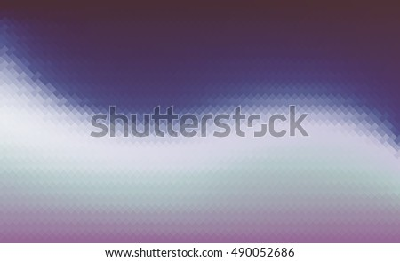Vector blurred pixel background. Square backdrop. Gradient. Abstract wave fond. EPS 8.