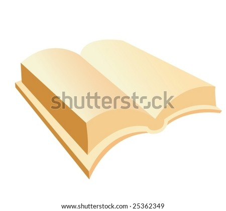 Vector book - stock vector